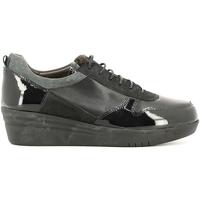 Schoenen Dames Lage sneakers Grunland SC2365 Zwart