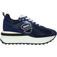 Schoenen Heren Sneakers Blauer F0MABEL01/NYL Blauw