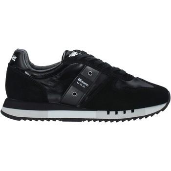 Schoenen Heren Sneakers Blauer F0MELROSE01/NYL Zwart
