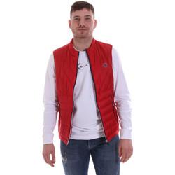 Textiel Heren Dons gevoerde jassen Gaudi 811BU35013 Rood