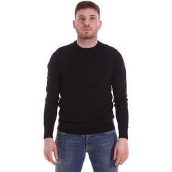 Textiel Heren Truien John Richmond CFIL-117 Zwart