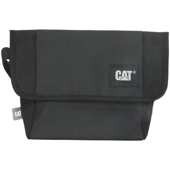 Tassen Schoudertassen met riem Caterpillar Detroit Courier Bag Noir