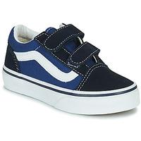 Schoenen Kinderen Lage sneakers Vans OLD SKOOL Blauw