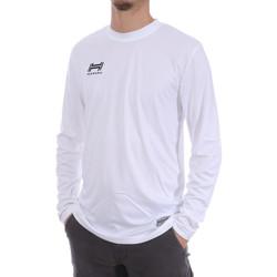 Textiel Heren T-shirts met lange mouwen Hungaria  Wit