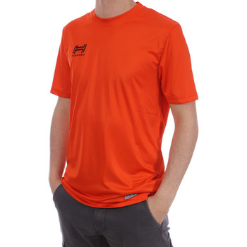 Textiel Heren T-shirts korte mouwen Hungaria  Orange