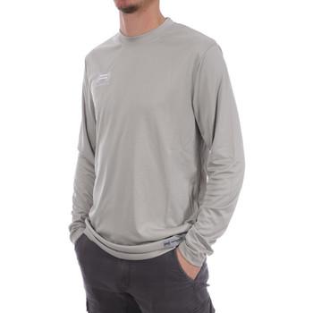Textiel Heren T-shirts met lange mouwen Hungaria  Grijs