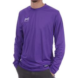 Textiel Heren T-shirts met lange mouwen Hungaria  Violet