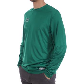 Textiel Heren T-shirts met lange mouwen Hungaria  Groen