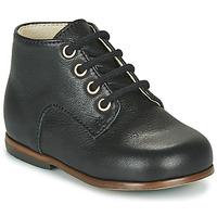 Schoenen Meisjes Hoge sneakers Little Mary MILOTO Zwart