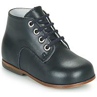 Schoenen Meisjes Hoge sneakers Little Mary MILOTO Blauw