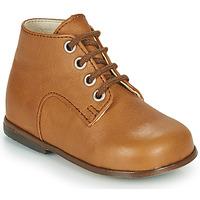 Schoenen Meisjes Hoge sneakers Little Mary MILOTO Brown