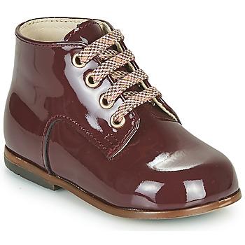 Schoenen Meisjes Hoge sneakers Little Mary MILOTO Bordeaux