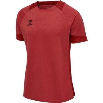 Textiel Heren T-shirts & Polo's Hummel Maillot  hmlLEAD rouge
