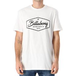 Textiel Heren T-shirts korte mouwen Billabong  Wit