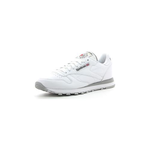 Schoenen Heren Lage sneakers Reebok Sport CL LTHR Blanc