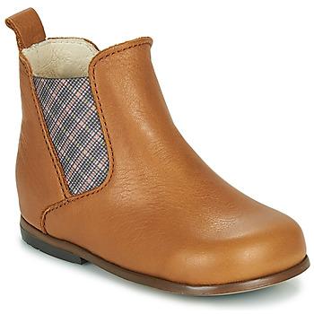 Schoenen Meisjes Laarzen Little Mary ARON Brown