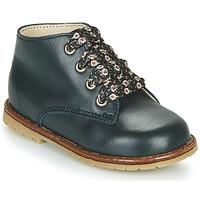 Schoenen Meisjes Hoge sneakers Little Mary JUDITE Blauw