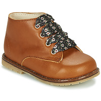 Schoenen Meisjes Hoge sneakers Little Mary JUDITE Brown