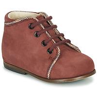 Schoenen Meisjes Hoge sneakers Little Mary MEGGIE Bordeaux
