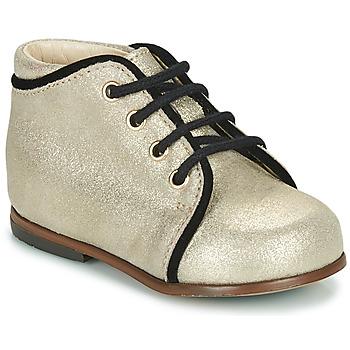 Schoenen Meisjes Hoge sneakers Little Mary MEGGIE Zilver