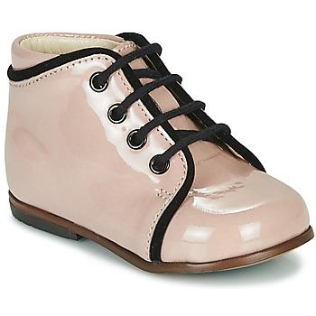Schoenen Meisjes Hoge sneakers Little Mary MEGGIE Roze