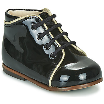 Schoenen Meisjes Hoge sneakers Little Mary MEGGIE Zwart