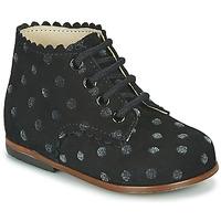 Schoenen Meisjes Hoge sneakers Little Mary VIVALDI Zwart