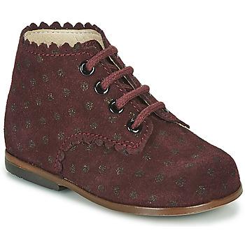Schoenen Meisjes Hoge sneakers Little Mary VIVALDI Bordeaux