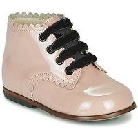 Schoenen Meisjes Hoge sneakers Little Mary VIVALDI Roze