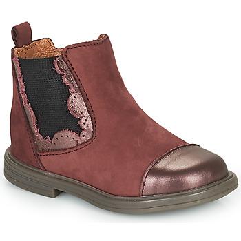 Schoenen Meisjes Laarzen Little Mary ELVIRE Bordeaux