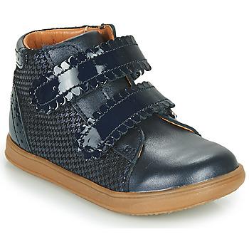 Schoenen Meisjes Hoge sneakers Little Mary CRISTIE Blauw