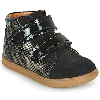 Schoenen Meisjes Hoge sneakers Little Mary CRISTIE Zwart