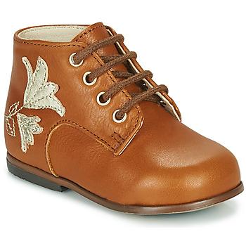Schoenen Meisjes Hoge sneakers Little Mary MEIGE Brown