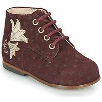 Schoenen Meisjes Hoge sneakers Little Mary MEIGE Bordeaux