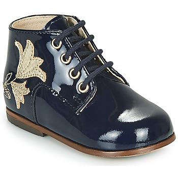 Schoenen Meisjes Hoge sneakers Little Mary MEIGE Blauw