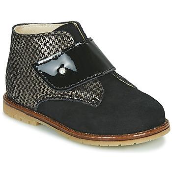 Schoenen Meisjes Hoge sneakers Little Mary JANYCE Zwart