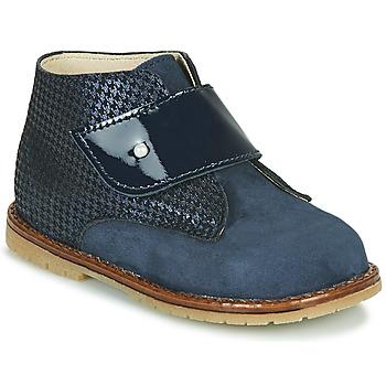 Schoenen Meisjes Hoge sneakers Little Mary JANYCE Blauw