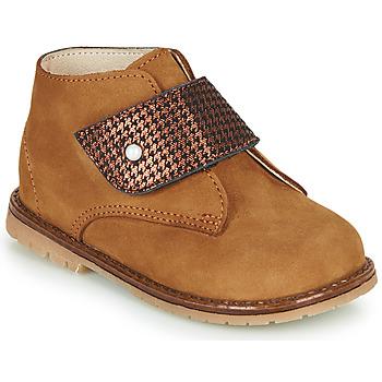 Schoenen Meisjes Hoge sneakers Little Mary JANYCE Brown