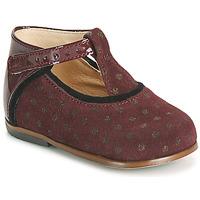 Schoenen Meisjes Hoge sneakers Little Mary BETHANY Bordeaux