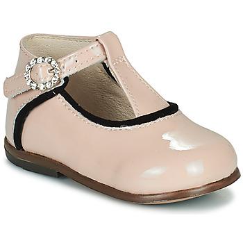 Schoenen Meisjes Hoge sneakers Little Mary BETHANY Roze