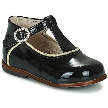 Schoenen Meisjes Hoge sneakers Little Mary BETHANY Zwart