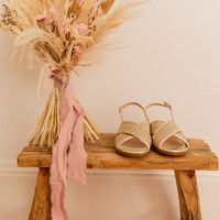 Schoenen Dames Sandalen / Open schoenen Céleste ORANGER Goud