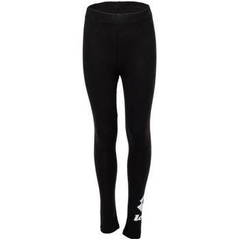 Textiel Meisjes Leggings Lotto 214371 Black