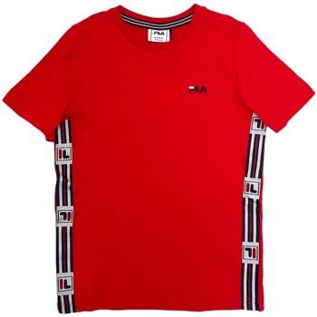 Textiel Kinderen T-shirts korte mouwen Fila 688118 Rood