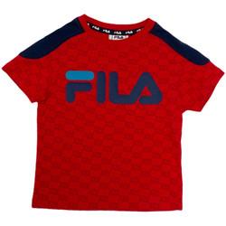Textiel Kinderen T-shirts korte mouwen Fila 688077 Rood