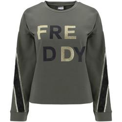 Textiel Dames Sweaters / Sweatshirts Freddy F0WSDS5 Groen