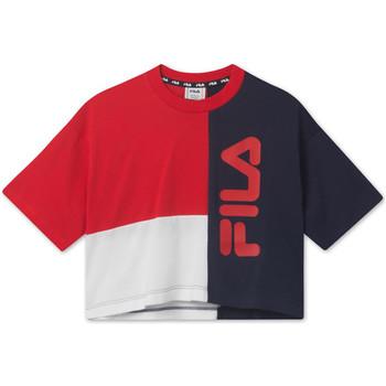 Textiel Kinderen T-shirts korte mouwen Fila 687998 Rood