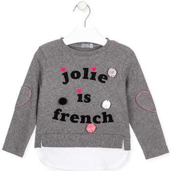Textiel Kinderen T-shirts met lange mouwen Losan 026-1019AL Grijs