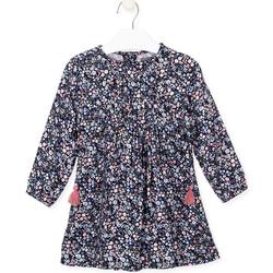 Textiel Meisjes Jurken Losan 026-7021AL Blauw