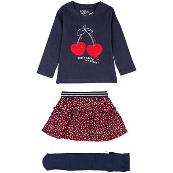 Textiel Meisjes Setjes Losan 026-8023AL Blauw